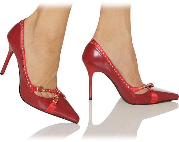 darling edle pumps mit strass pumps tiefer absatz high heels hot heels. Black Bedroom Furniture Sets. Home Design Ideas